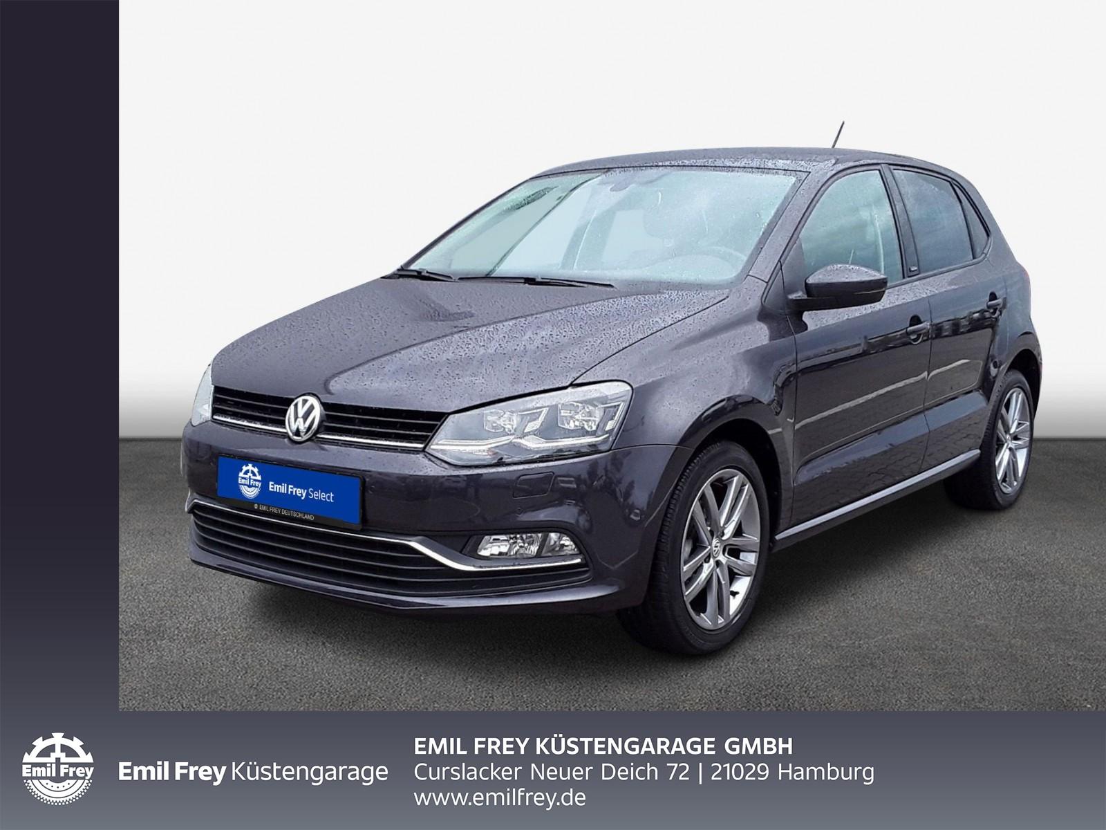 Volkswagen Polo 1,0 Comfortline, Klima, Alu, Jahr 2016, Benzin