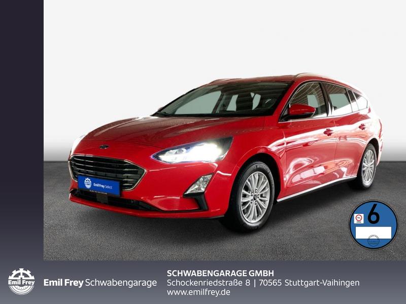 Ford Focus Turnier Aut. TITANIUM AHK Navi LED WinterP, Jahr 2019, Diesel