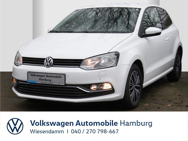 Volkswagen Polo 1.0 Allstar Klimaautomatik LM Navi Tempomat, Jahr 2016, Benzin