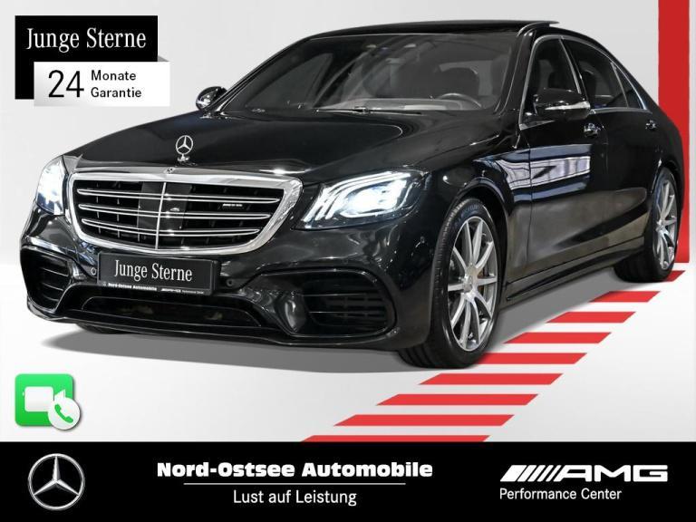 Mercedes-Benz S 63 AMG lang 4M COMAND Night HUD Keyless Pano, Jahr 2019, Benzin