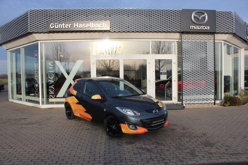 Mazda 2 S 1.3l MZR 75PS 3T 5GS AL-EDITION, Jahr 2012, petrol