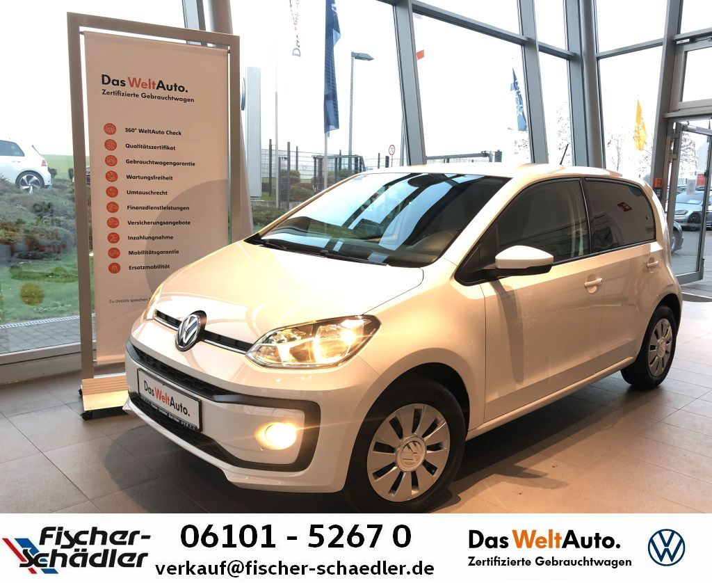 Volkswagen up! 1.0*Automatik*Klima*SitzHz.*MFL*Tel., Jahr 2018, Benzin