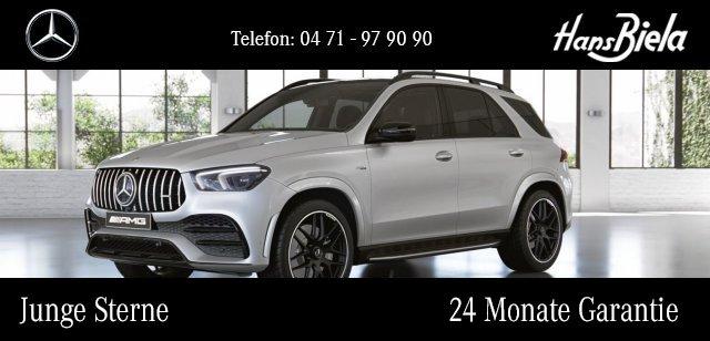"Mercedes-Benz GLE 53 AMG 4M AMG/NightPak/22""/PerformanceAbgas, Jahr 2020, petrol"