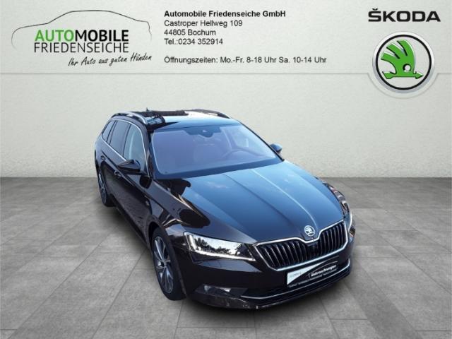Skoda Superb Combi L&K 2.0 TDI EURO 6 Leder Keyless AD Klimasitze e-Sitze ACC El. Heckklappe, Jahr 2017, Diesel