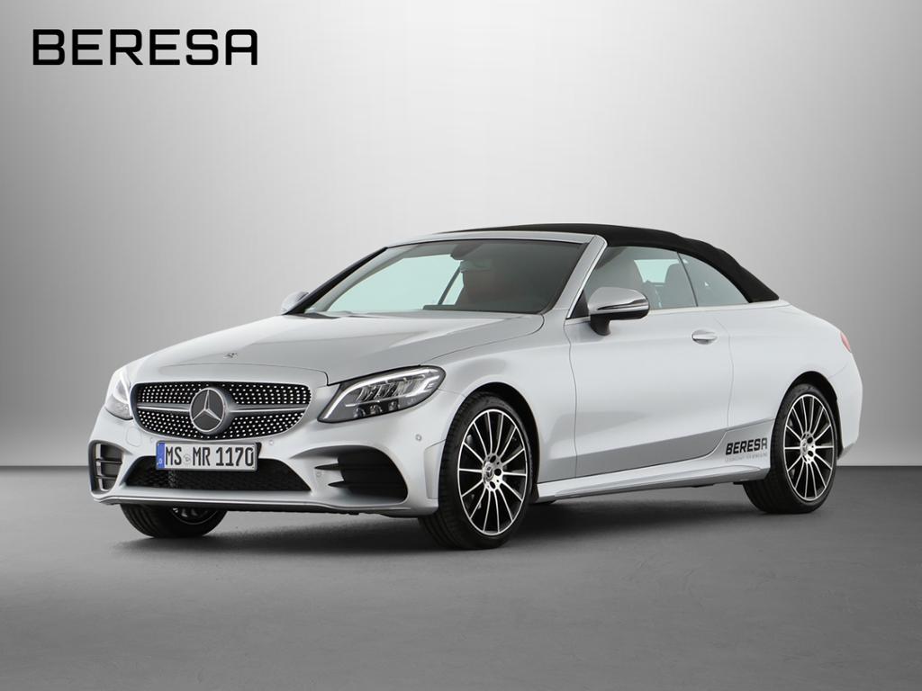 Mercedes-Benz C 180 Cabrio AMG Kamera Burmester LED Sitzkl., Jahr 2019, Benzin