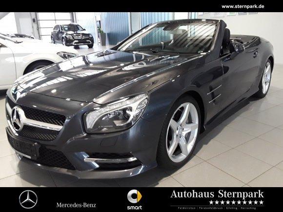 Mercedes-Benz SL 500 AMG COMAND/Pano./Sitzklima/B&O-Sound/ABC, Jahr 2015, Benzin