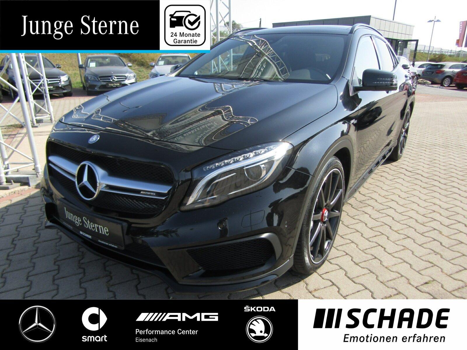 Mercedes-Benz GLA 45 AMG 4 Matic *Exklusiv Paket*Panoramadach*, Jahr 2016, Benzin