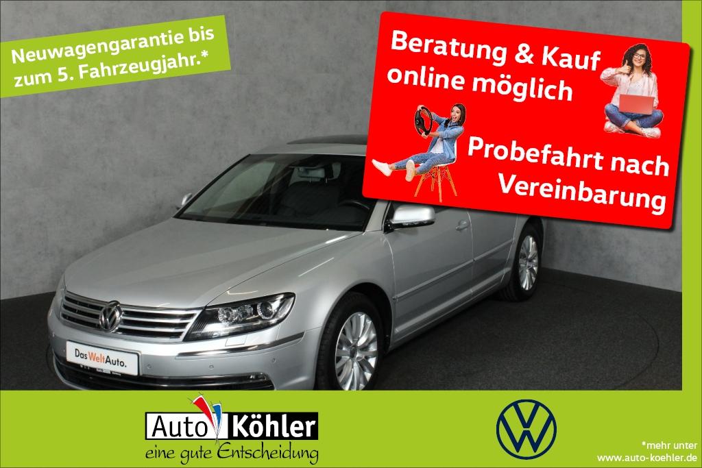 Volkswagen Phaeton TDi Dynaudio / Glasschiebedach USB, Jahr 2015, Diesel