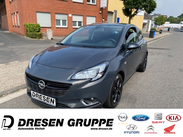 Opel Corsa E Color Edition 1.0 Turbo/ LED+Klima+SHZ+Tempomat, Jahr 2015, Benzin