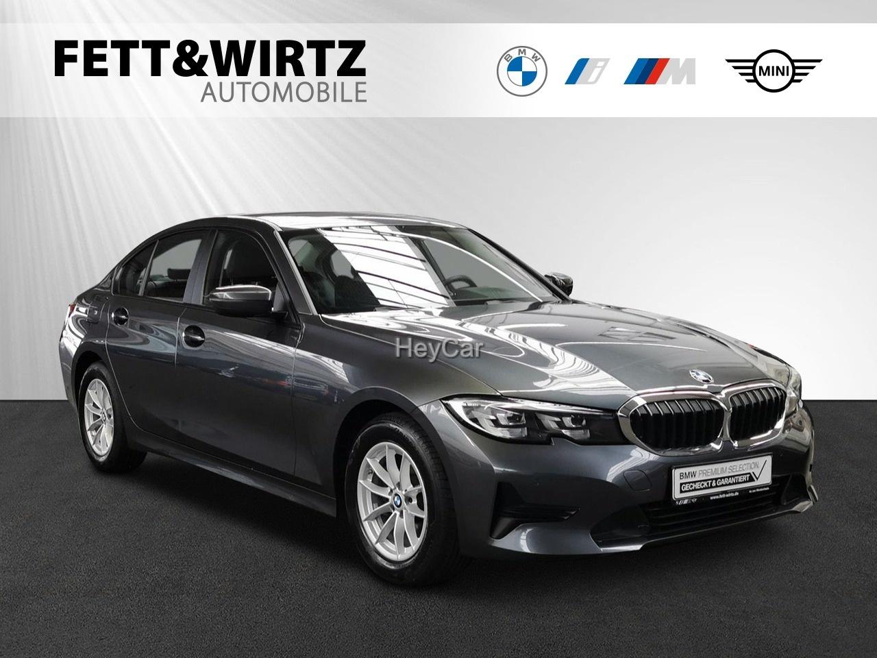 BMW 318d Adv. Aut. Sports. LC-Plus SHZ HiFi PDC, Jahr 2019, Diesel
