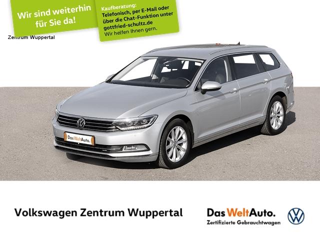 Volkswagen Passat Var 2,0 TDI Highline DSG NAVI LED AHK SHZ PDC, Jahr 2017, Diesel