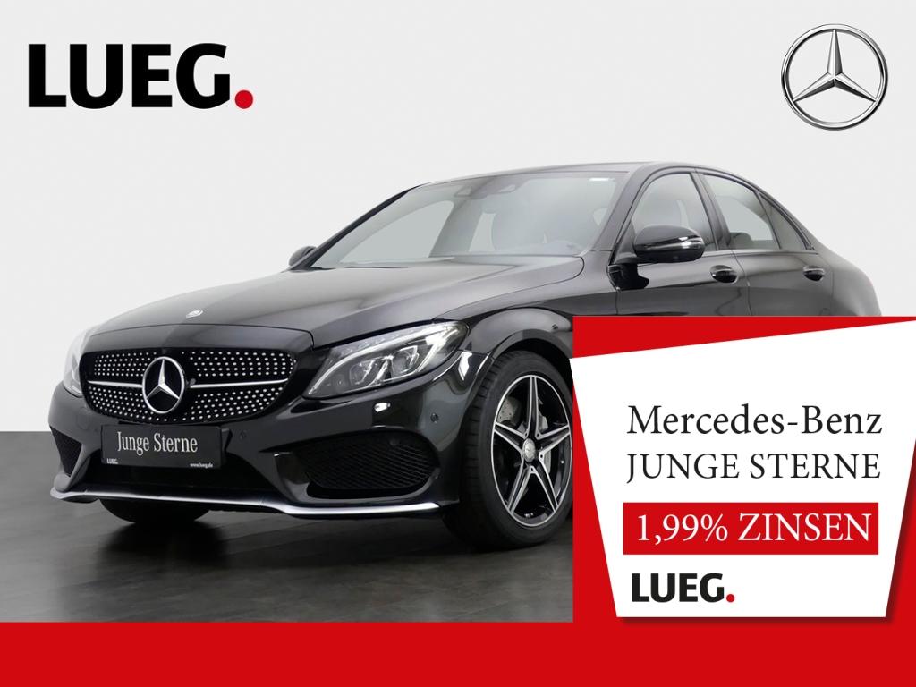 Mercedes-Benz C 450 AMG 4M Navi+LED-ILS+HUD+SpurP+ParkAss+360, Jahr 2016, Benzin