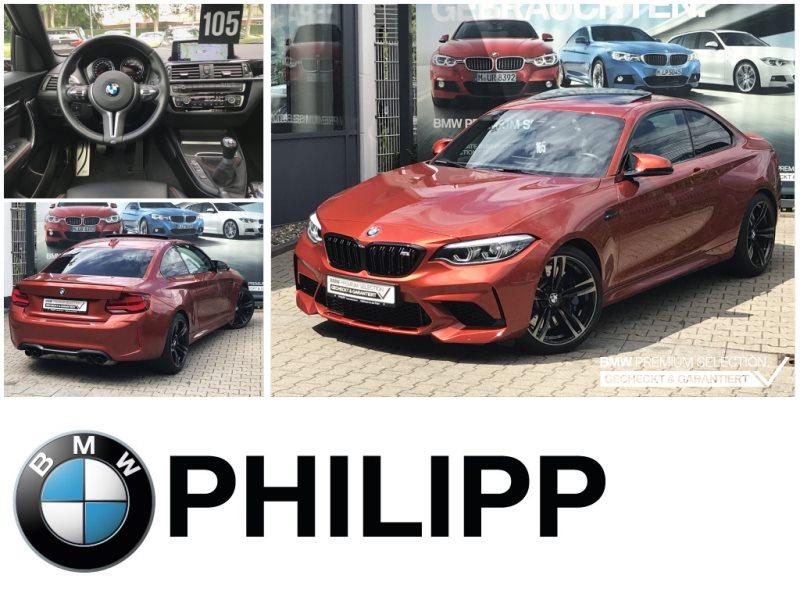 BMW M2 Competition Coupé HiFi LED WLAN GSD RFK Shz, Jahr 2018, Benzin
