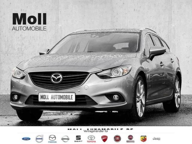 Mazda 6 2.0 Kombi SKYACTIV-G Sports-Line Navi RFK SHZ, Jahr 2018, Benzin