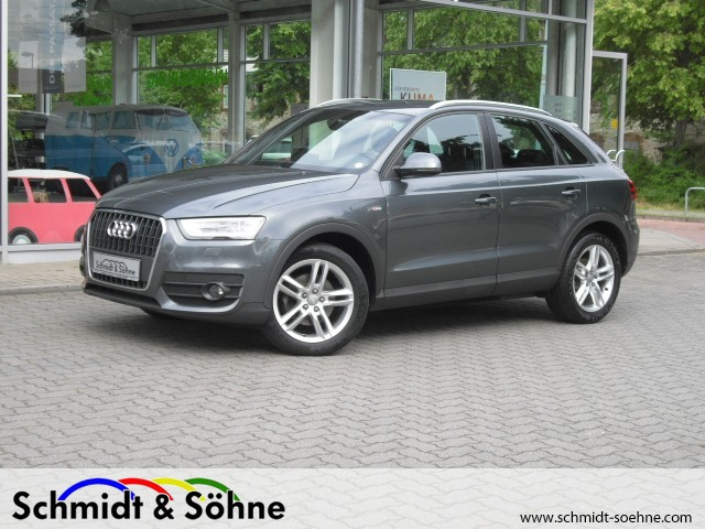 Audi Q3 2.0 TDI DPF Xenon Einparkhilfe Kurvenlicht, Jahr 2012, Diesel