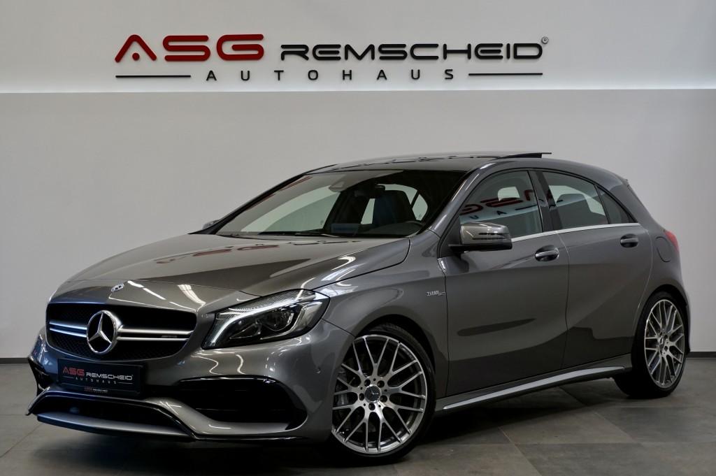 Mercedes-Benz A 45 AMG 4M *Pano *Comand *HK *19 Zoll *Key-Go*, Jahr 2018, Benzin