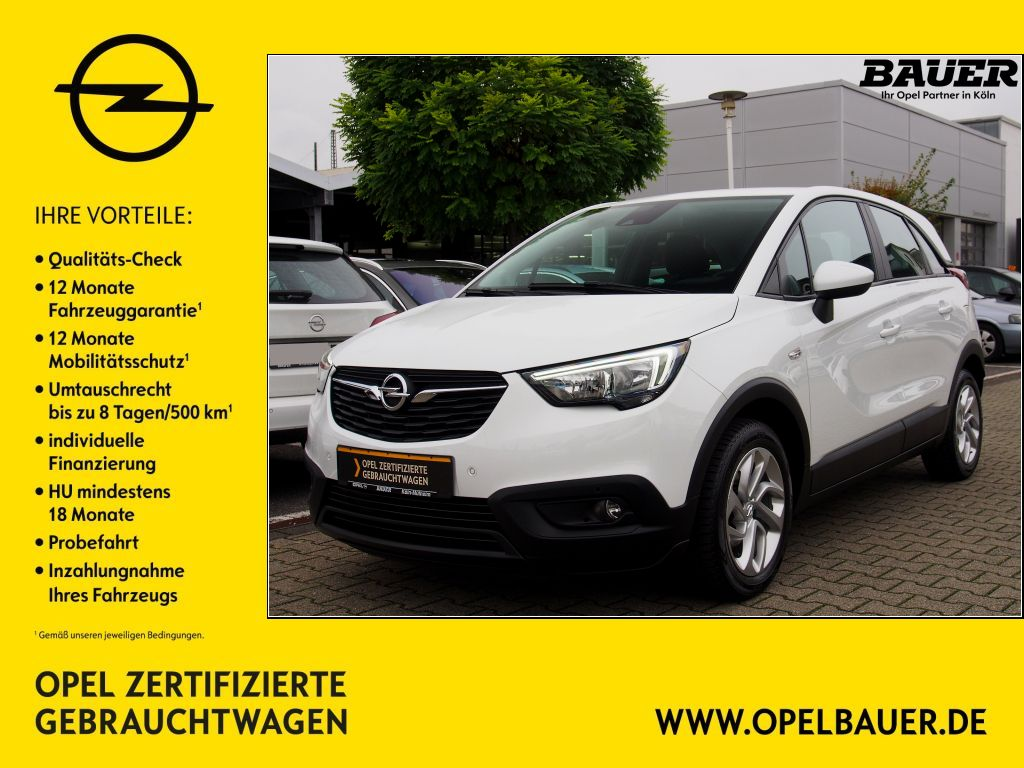 Opel Crossland X 1.2 Edition, Jahr 2017, Benzin