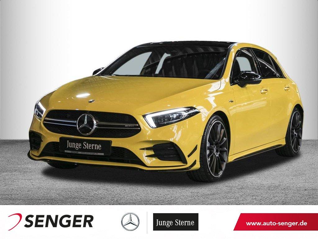Mercedes-Benz A 35 AMG 4M*Pano*Display digital*Multibeam*Night, Jahr 2019, Benzin