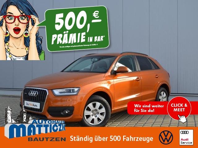 Audi Q3 2.0 TDI quattro XENON/GRA/APS/SHZ/CONCERT/CON, Jahr 2013, Diesel
