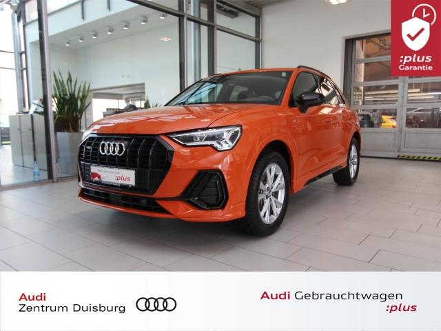 Audi Q3 40 quattro S-line LED Keyless B&O PDC SHZ, Jahr 2019, Benzin