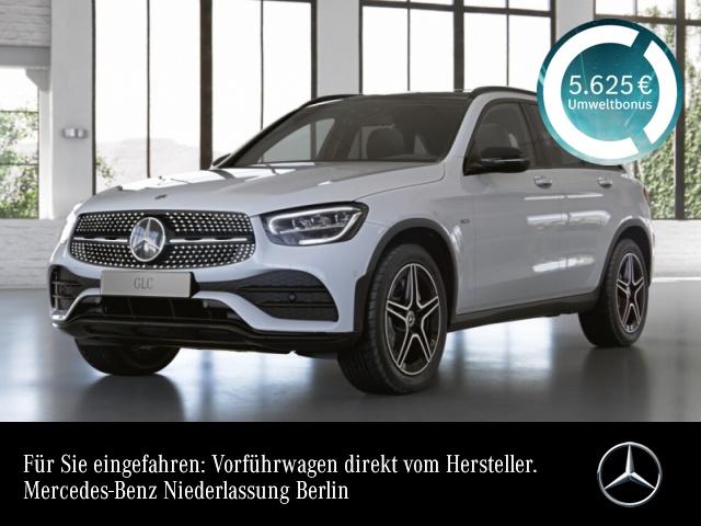 Mercedes-Benz GLC 300 de 4M AMG+Night+Pano+LED+Kamera+Keyless+9G, Jahr 2021, Hybrid_Diesel