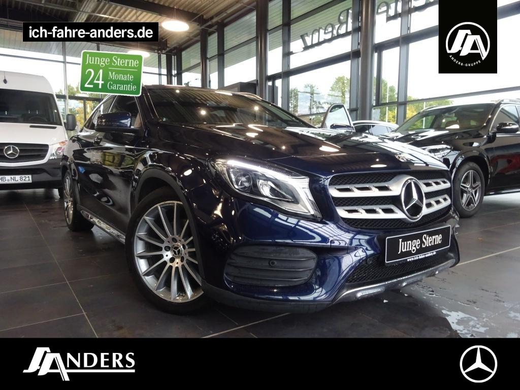 Mercedes-Benz GLA 250 4M AMG+Navi+SHZ+LED+Pano+Kam+EASY-PACK, Jahr 2018, Benzin