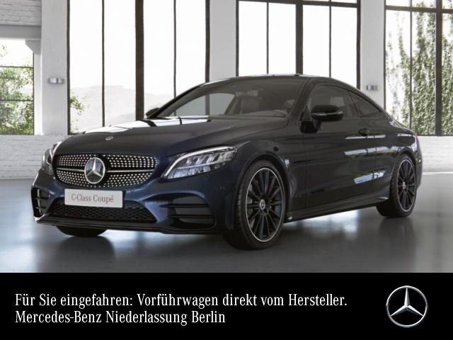 "Mercedes-Benz C 180 Coupé AMG+Night+Pano+LED+Kamera+19""+Spur+9G, Jahr 2021, petrol"