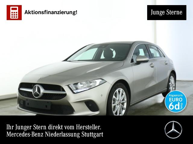 Mercedes-Benz A 180 Progressive Navi Premium AHK Spurhalt-Ass, Jahr 2019, Benzin