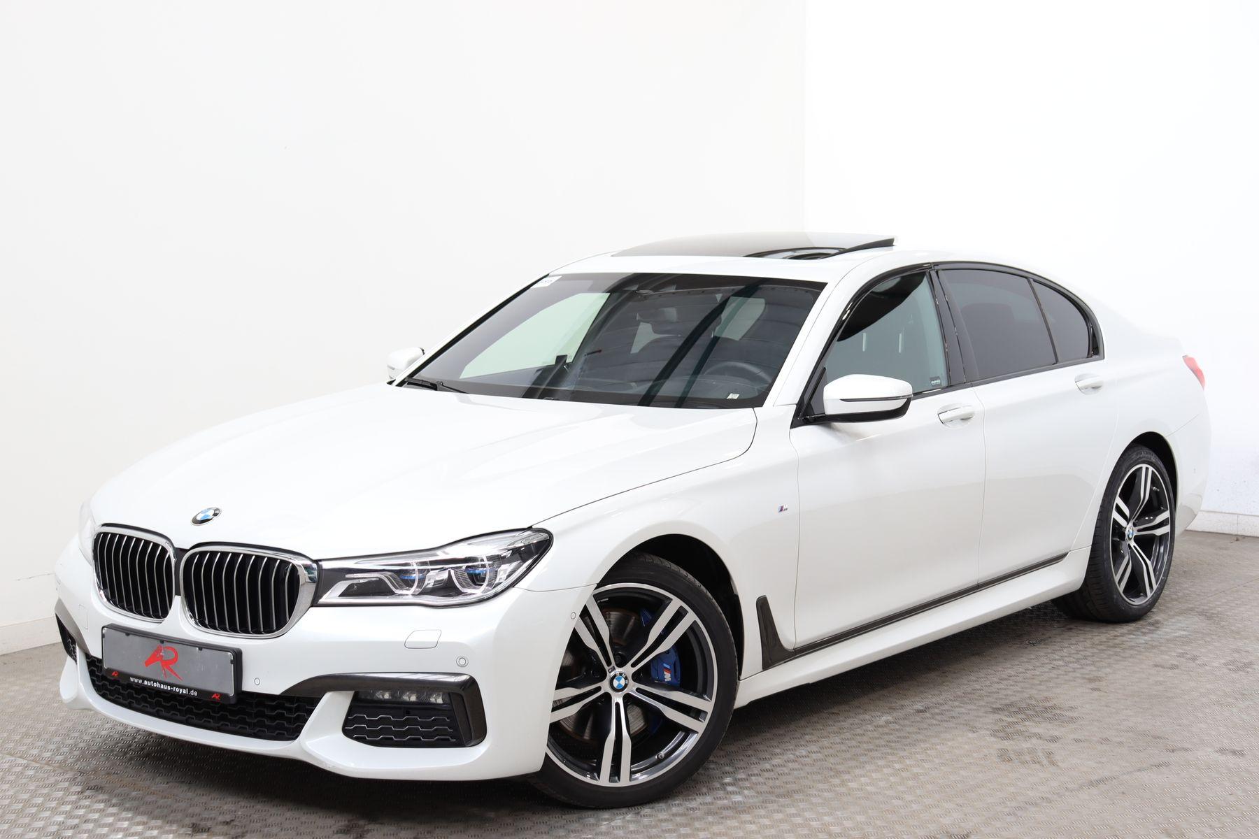 BMW 750 i xDrive M SPORT BOWERS+WILKINS,NACHTSICHT, Jahr 2018, Benzin