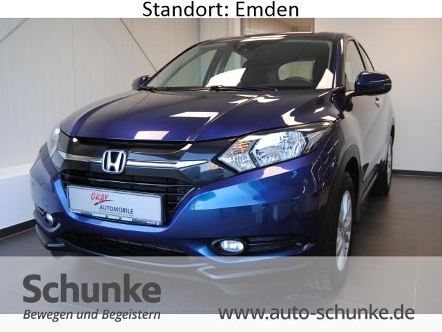 Honda HR-V Elegance 1.5 i-VTEC Fernlichtass. PDCv+h Multif.Lenkrad Alarm Klimaautomatik, Jahr 2016, petrol