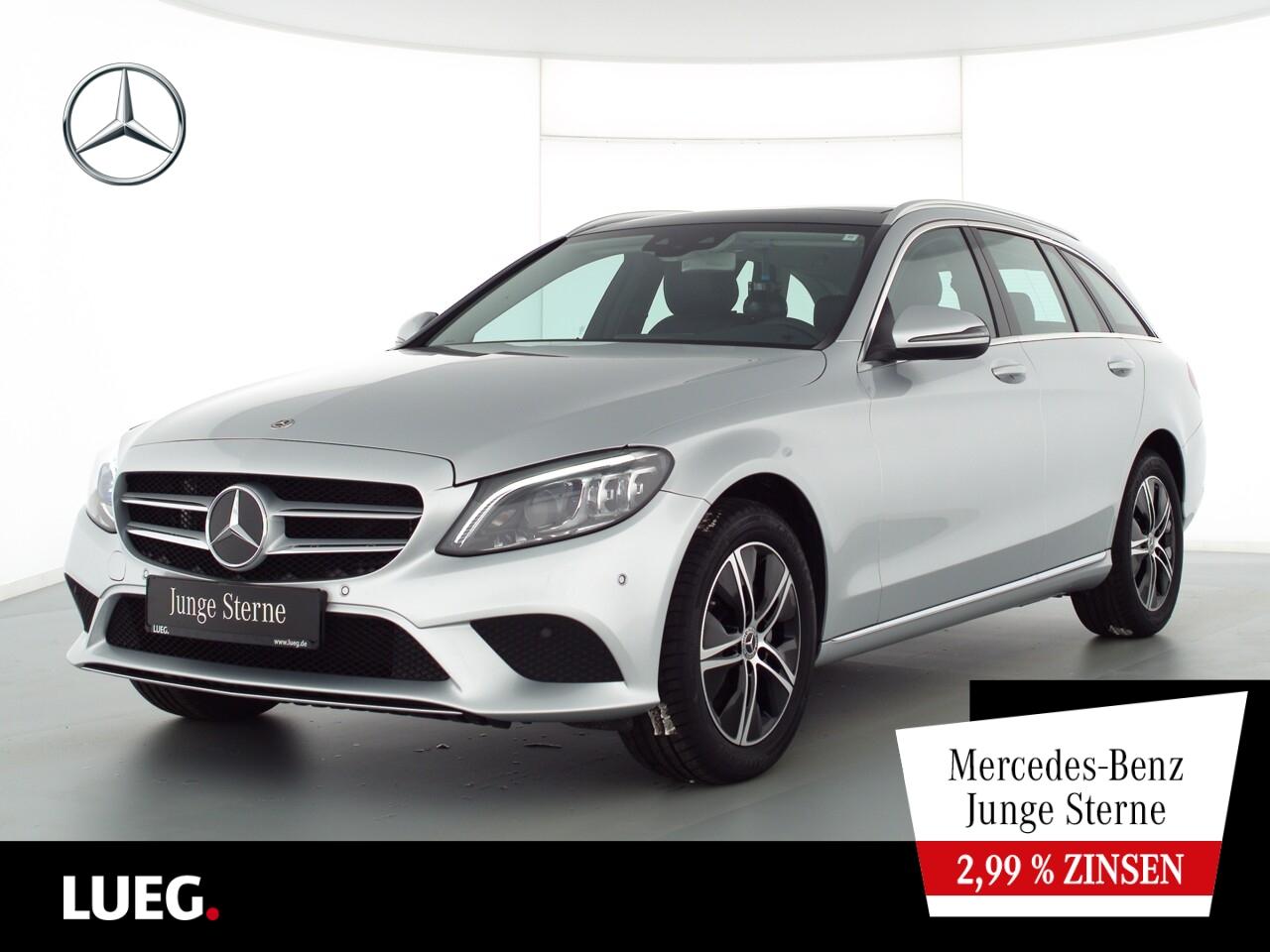 Mercedes-Benz C 200 T 4M Avantgarde+COM+Pano+Mbeam+SpurPkt+RFK, Jahr 2020, Benzin