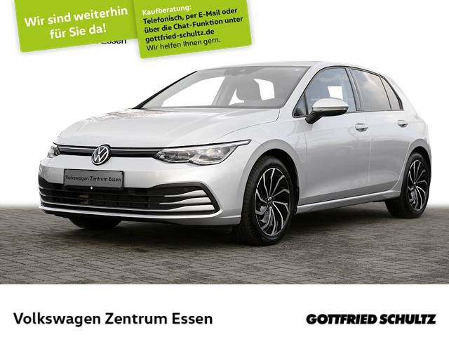 Volkswagen Golf Life 1.5 TSI NAVI PRO LED AHK PDC DAB ALU17, Jahr 2020, Benzin