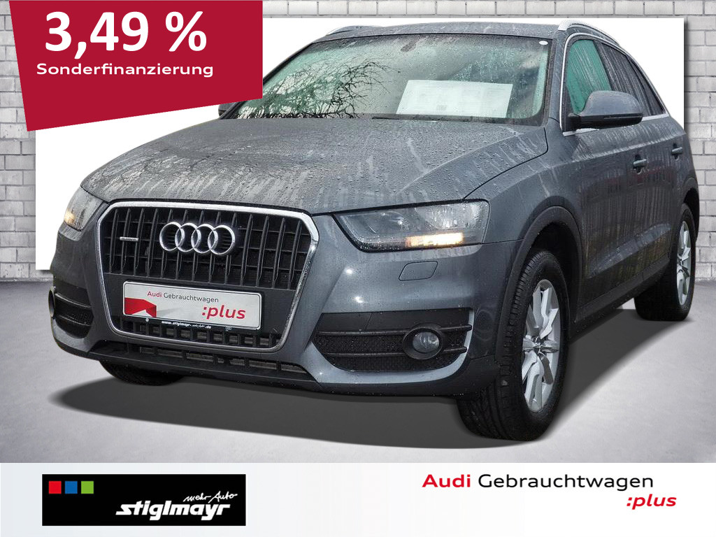 Audi Q3 2.0 TFSI quattro KLIMAAUTOMATIK-2-ZONEN+17`, Jahr 2012, Benzin
