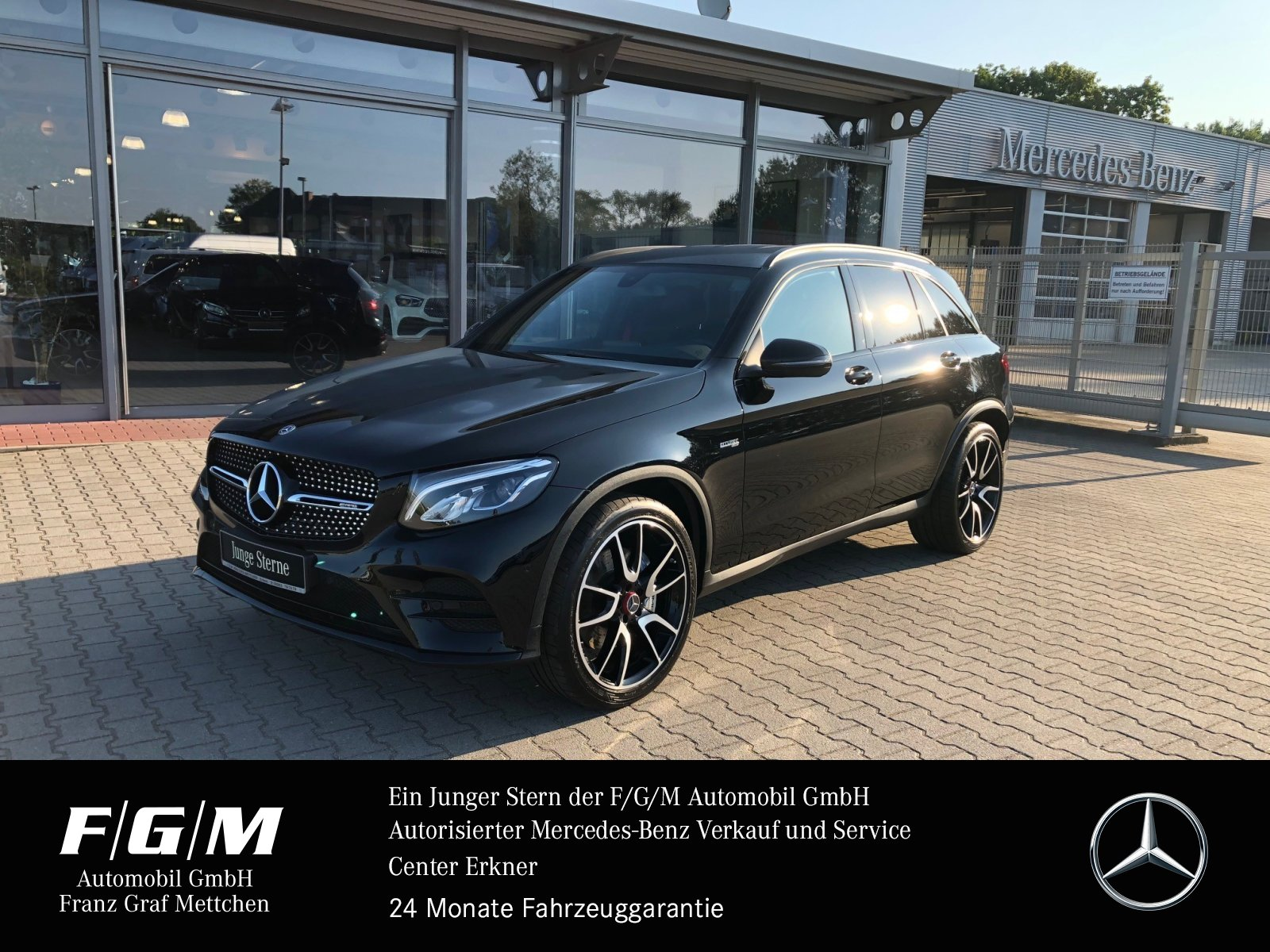 "Mercedes-Benz GLC 43 AMG Navi/LED-Licht/Night/21""/Parktronic, Jahr 2019, petrol"