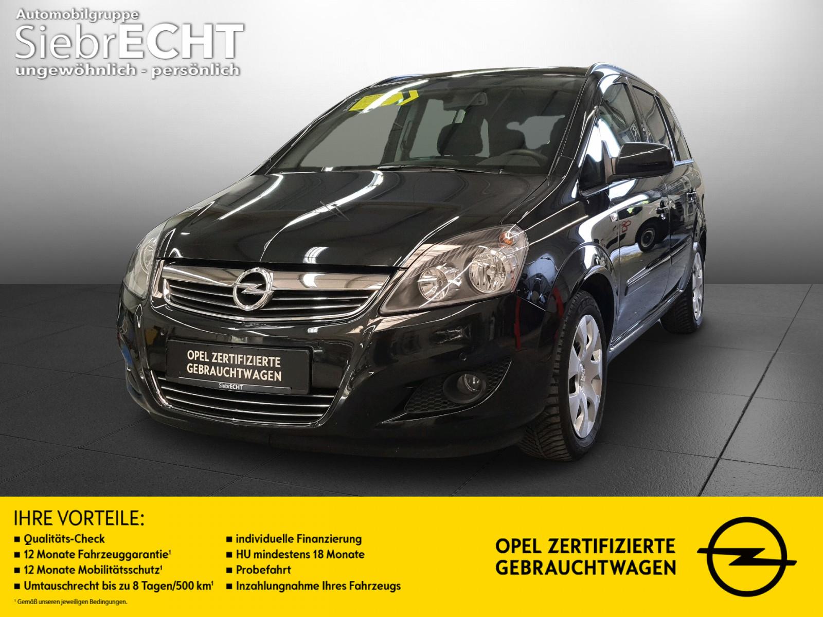 Opel Zafira Family 1.8 7Sitzer*AHK*PDC*Klima*USB/AUX, Jahr 2014, Benzin
