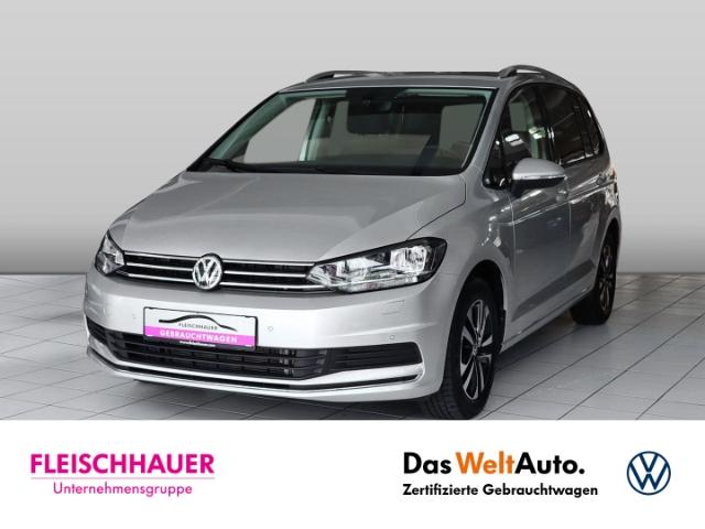 Volkswagen Touran United 2.0 TDI Navi+AHK+Stdhzg+7-Sitzer+PDC+SHZ+connect, Jahr 2020, Diesel
