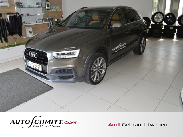 Audi Q3 2.0 TDI Design quattro Navi Panorama BOSE LED, Jahr 2016, Diesel