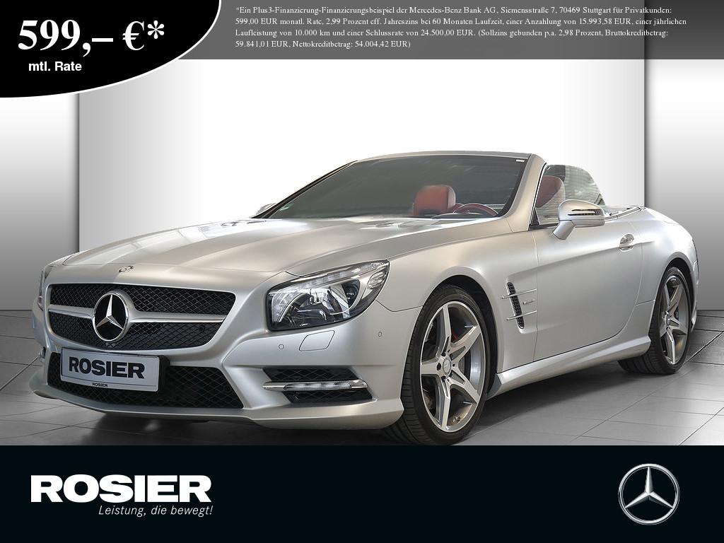 Mercedes-Benz SL 500 AMG Line Edition1, Jahr 2012, Benzin