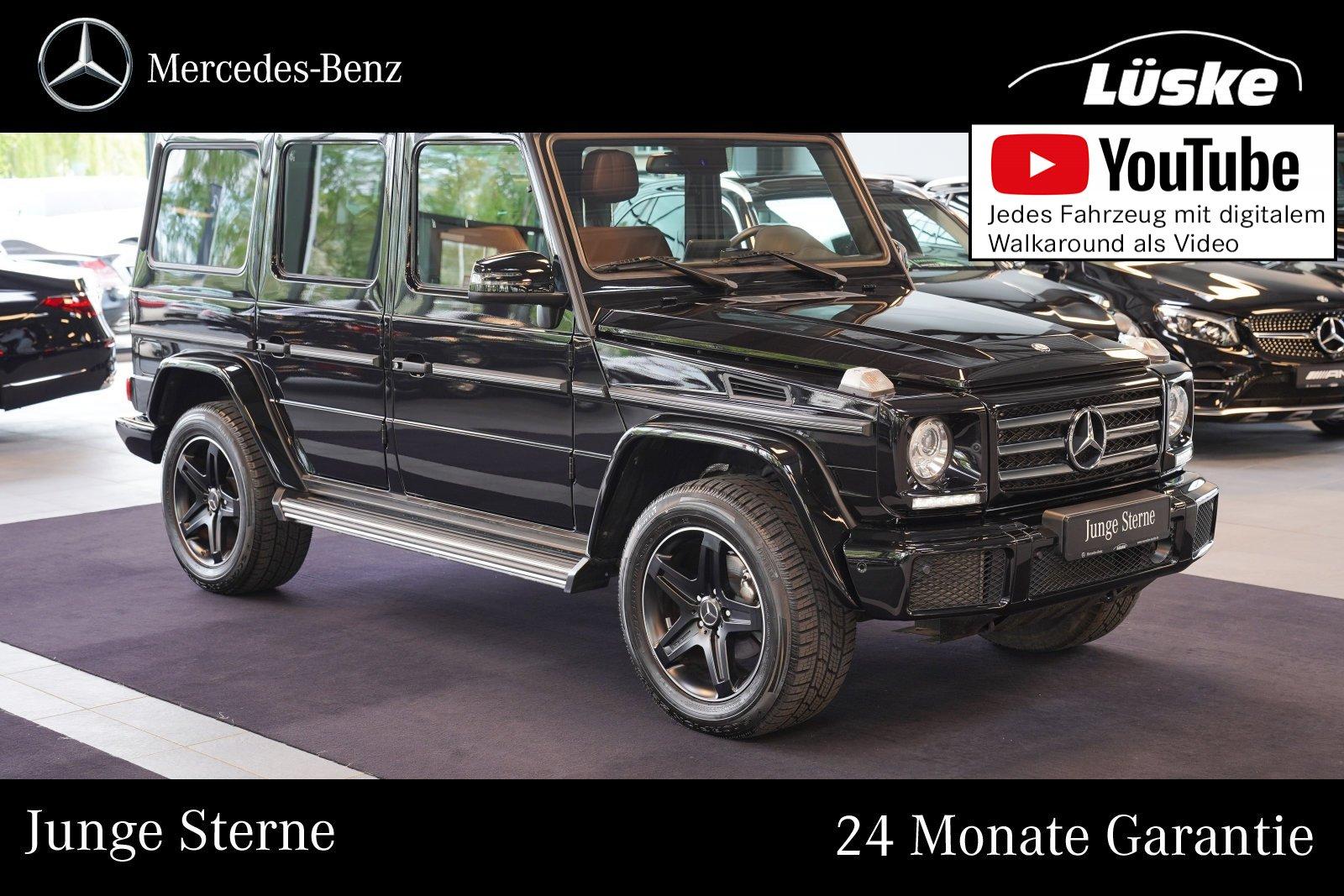 Mercedes-Benz G 350 d Sport-Paket Leder kastanie DISTRONIC TV, Jahr 2017, Diesel