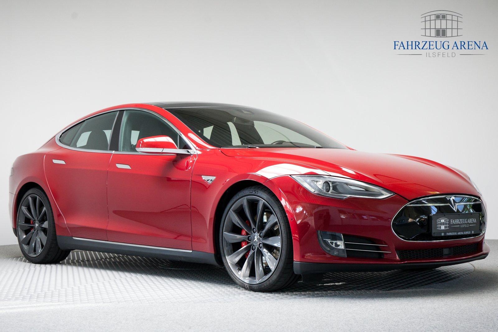 Tesla Model S P85D 0,5-PROZENT-REGELUNG Autopilot, Jahr 2015, Elektro
