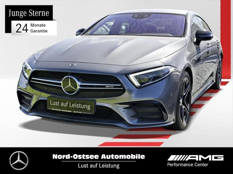 Mercedes-Benz CLS 53 AMG 4M+ Comand Distr Night SHD Widescreen, Jahr 2019, Benzin