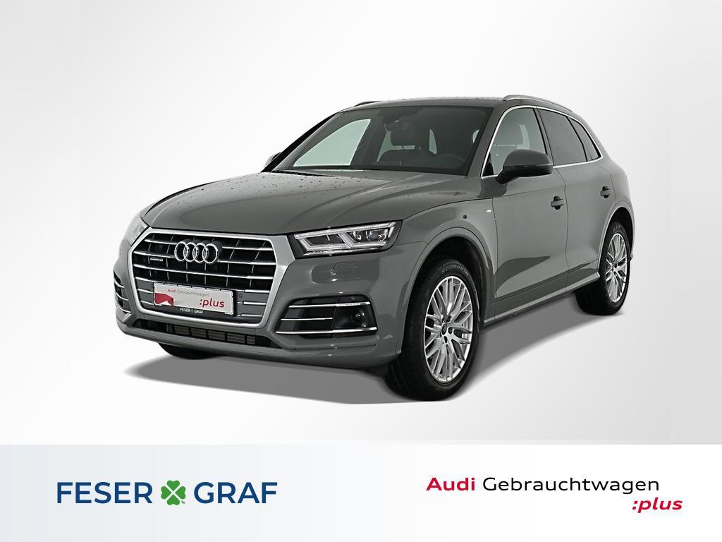 Audi Q5 45TFSI qu 3x S Line LED,Navi,20,AssistenzP, Jahr 2019, Benzin