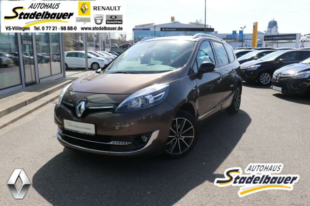 Renault Grand Scenic Energy TCe 130 S&S Bose Edition, Jahr 2014, Benzin