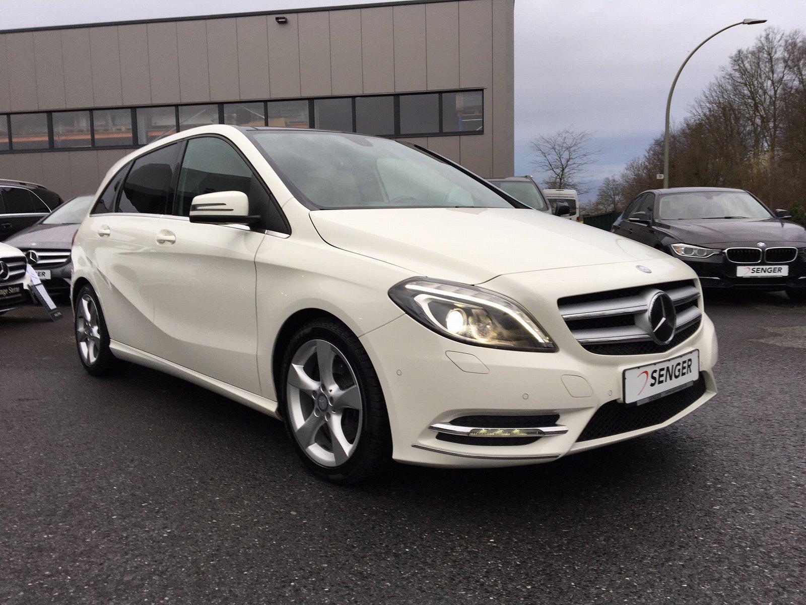 Mercedes-Benz B 220 CDI *Sport-Paket*7G-DCT*Panorama*Xenon*PTS, Jahr 2014, diesel