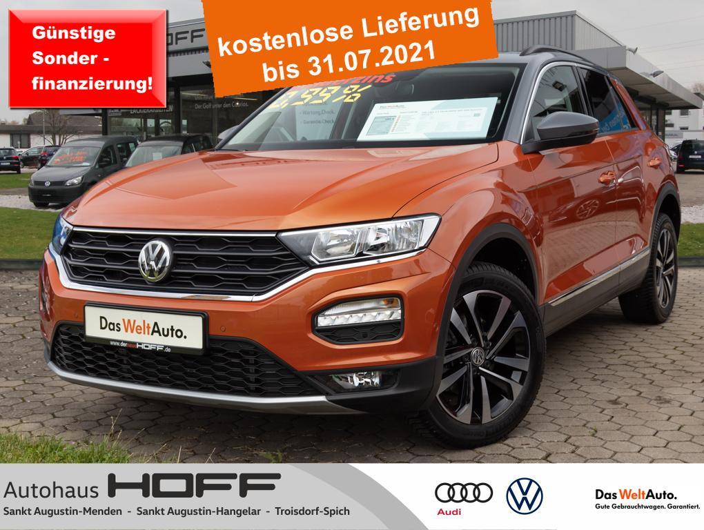 Volkswagen T-Roc 1.5 TSI IQ.DRIVE APP AHK Panorama Sitzheiz, Jahr 2020, Benzin