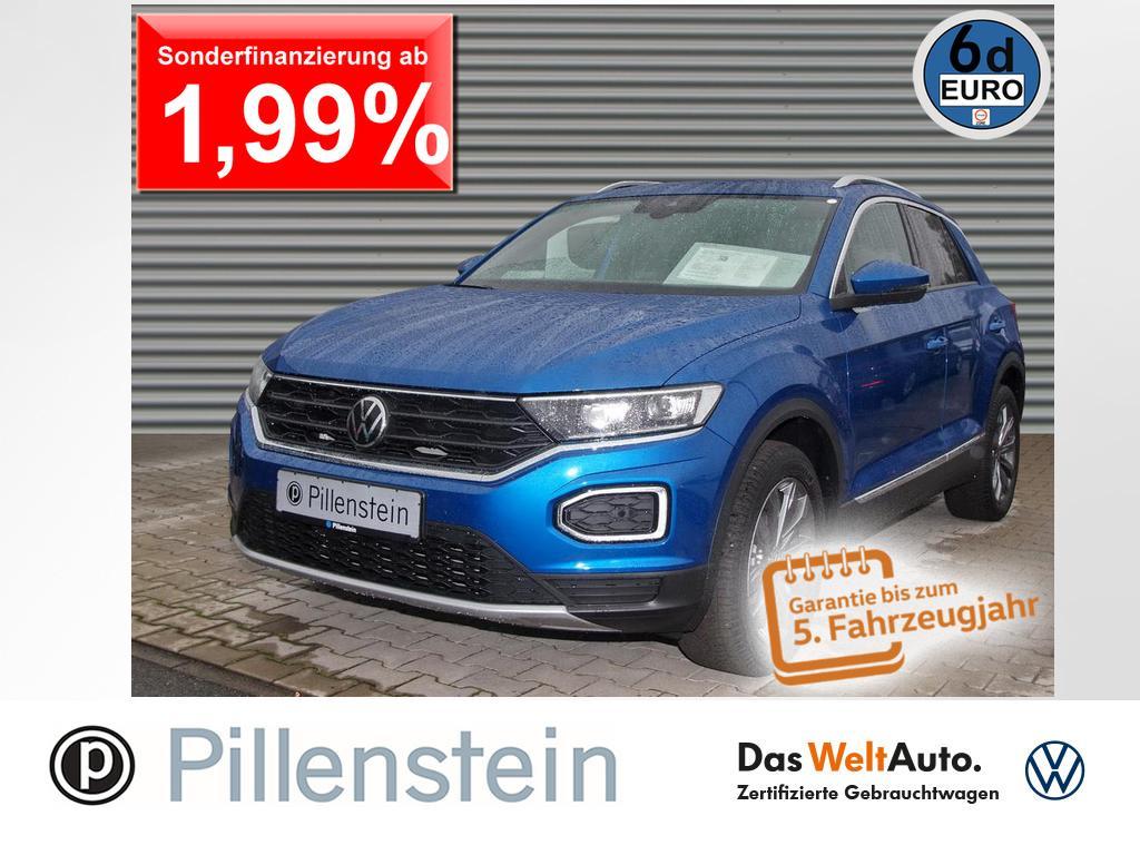 Volkswagen T-Roc 1.5TSI Sport LED ACC AHK STANDH NAVI KAMER, Jahr 2020, Benzin