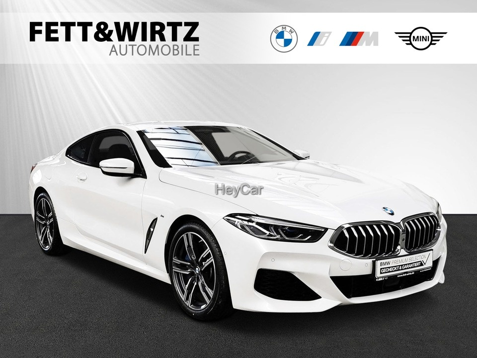 BMW 840i Coupe M Sport Laser Leas. ab 769,- br.o.Anz, Jahr 2020, Benzin