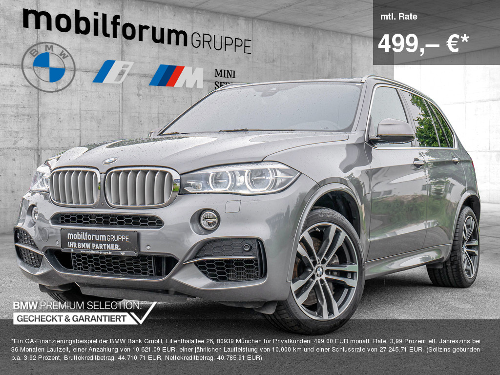 BMW X5 M50d, Jahr 2016, Diesel