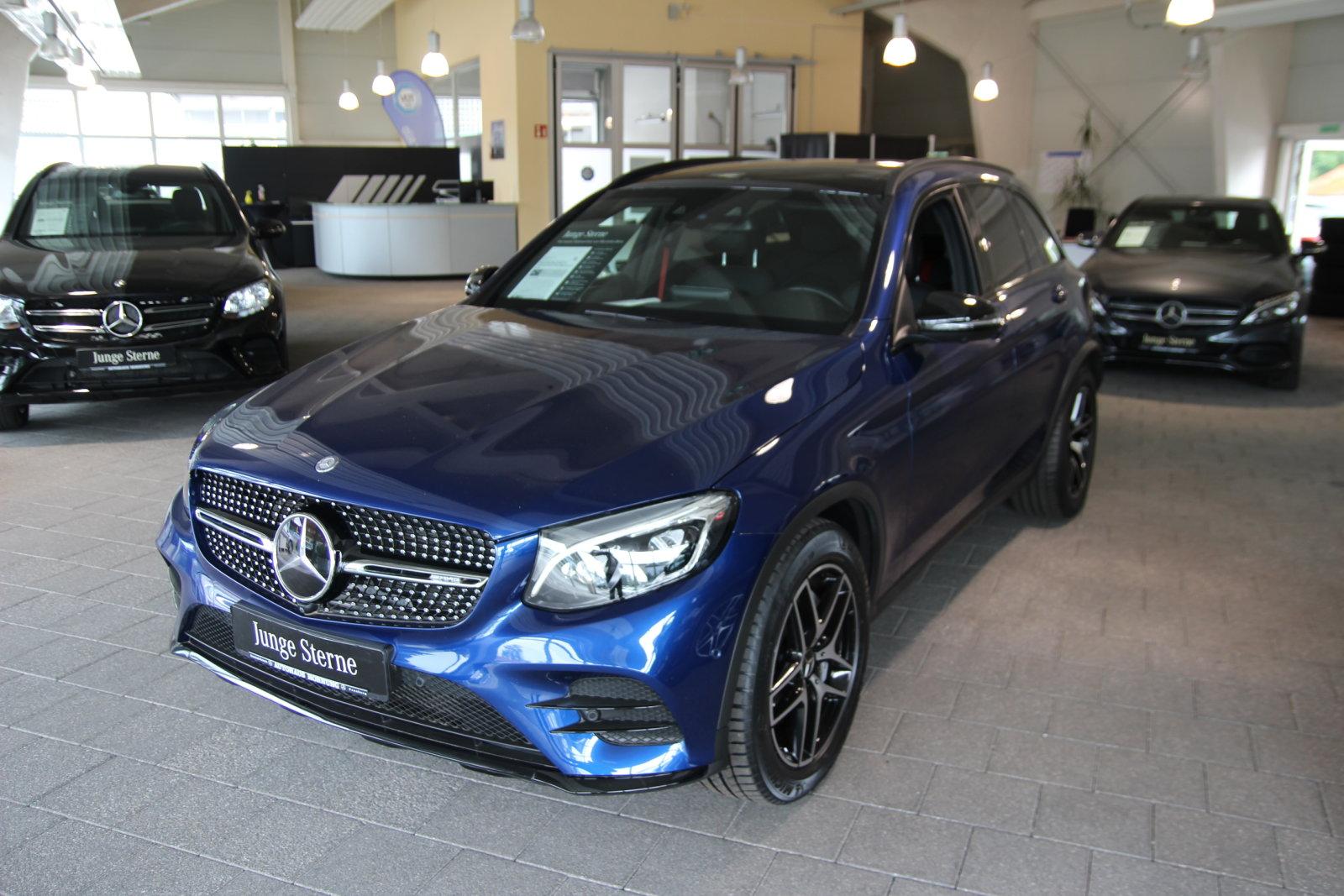 Mercedes-Benz GLC 43 4M/AHK/Distr/Pano/Memory/Comand/Sound LED, Jahr 2017, Benzin