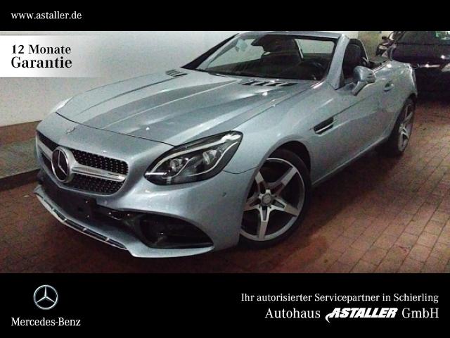 Mercedes-Benz SLC 250 d AMG+Comand+Pano+Fahrdy+Memo+Kam+Distro, Jahr 2016, Diesel
